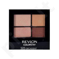 Revlon Colorstay 16 Hour akių šešėliai, kosmetika moterims, 4,8g, (505 Decadent)