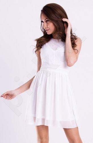 Emamoda suknelė - balta 12007-2