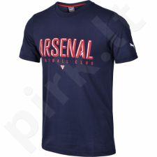 Marškinėliai Puma Arsenal Football Club Fan Black Iris M 749144021