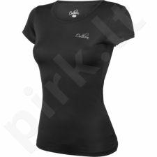 Marškinėliai treniruotėms Outhorn W TOL16-TSDF600 juoda