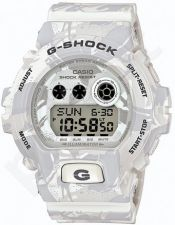 Laikrodis CASIO G-SHOCK GD-X6900MC7DR CAMO WHITE ALPINE Shock & Magnetic resistant Resin Case & Strap Super Illuminator World time 29 zon 3 daily s Snooze Hourly Time Signal Countdown Timer F