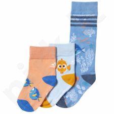 Kojinės Adidas Finding Nemo Socks Kids 3 poros AY6475