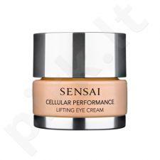 Kanebo Sensai Cellular Perfomance Lifting akių kremas, kosmetika moterims, 15ml