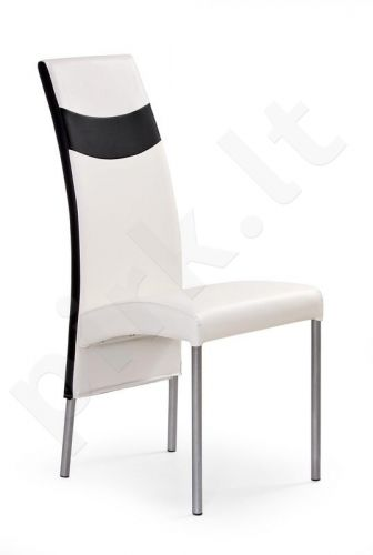 Kėdė K51, baltos-juodos sp.