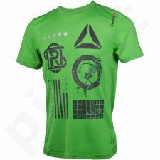 Marškinėliai bėgimui  Reebok One Series Running SS M AJ0449