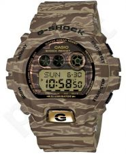 Laikrodis CASIO G-SHOCK GD-X6900TC5DR ARMY CAMO KHAKI GREEN Shock & Magnetic resistant Resin Case & Strap Super Illuminator World time 29 zon 3 daily s Snooze Hourly Time Signal Countdown Ti