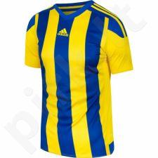Marškinėliai futbolui Adidas Striped 15 Junior S16142