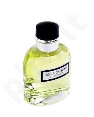 Dolce & Gabbana Pour Homme, tualetinis vanduo (EDT) vyrams, 75 ml
