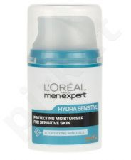 L´Oréal Paris Men Expert, Hydra Sensitive, dieninis kremas vyrams, 50ml