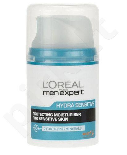 L´Oreal Paris Men Expert Hydra Sensitive Protecting Moisturiser, kosmetika vyrams, 50ml