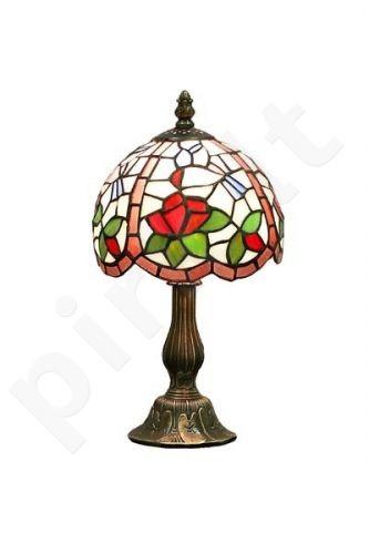 Vitražinė stalinė lempa 50770
