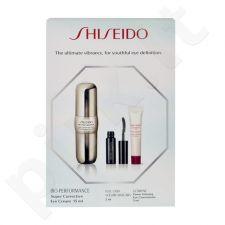 Shiseido Eye2Eye, Bio-Performance, rinkinys paakių kremas moterims, (15ml BIO-PERFORMANCE Super Corrective paakių kremas + 2ml Full Lash Volume blakstienų tušas + 5ml Ultimune Power Infusing Eye Concentrate)