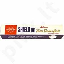 Stalo teniso kamuoliukai Shield 6vnt. baltas