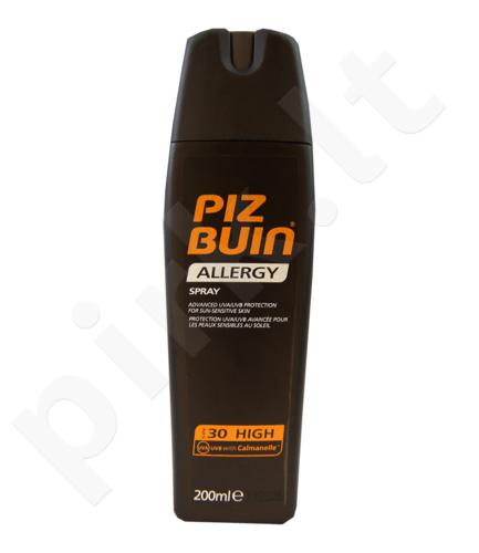 PIZ BUIN Allergy, Sun Sensitive Skin Spray, Sun kūno losjonas moterims, 200ml