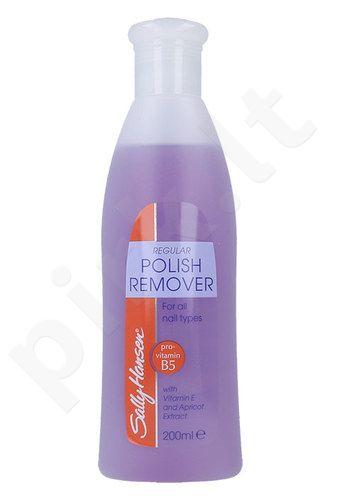 Sally Hansen Regular Polish Remover With Vitamin E, kosmetika moterims, 200ml