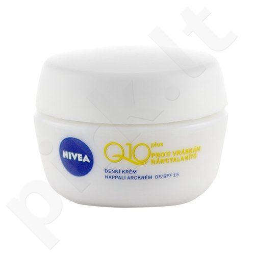 Nivea Q10 Plus dieninis kremas, kosmetika moterims, 50ml