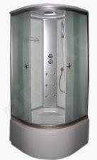 Akcija! Masažinė dušo kabina KM998 100x100  fabric