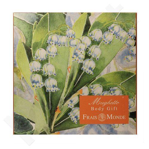 Frais Monde Lily Of The Valley Body Gift rinkinys moterims, (125ml Thermal Salts Perfumed Water + 200ml Thermal Salts vonios putos + 200ml Thermal Salts kūno kremas)