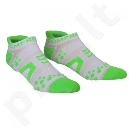Kojinės Compressport Racing Socks V2 Run RSLV2-00GR