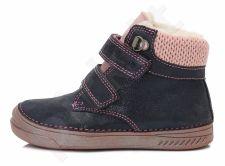 D.D. step tamsiai mėlyni batai su pašiltinimu 25-30 d.040423cm