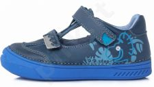 D.D. step mėlyni batai 25-30 d. 040436m