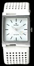 Modernus baltas Pacific laikrodis PC2563B