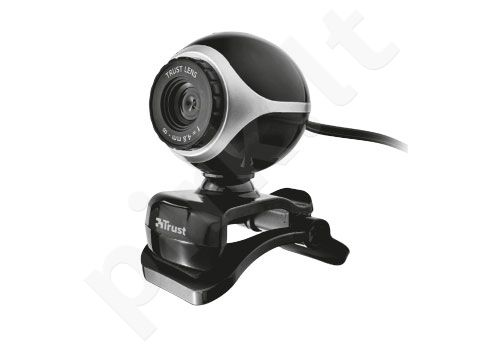 Web kamera Trust Exis Chatpack Juoda