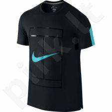 Marškinėliai tenisui Nike Court Crew M 729262-011