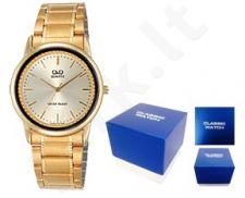 Laikrodis Q&Q FASHION moteriškas CLASSIC GOLD Q&Q FASHION moteriškas CLASSIC SILVER NEUTRAL BOX VW26-001Y