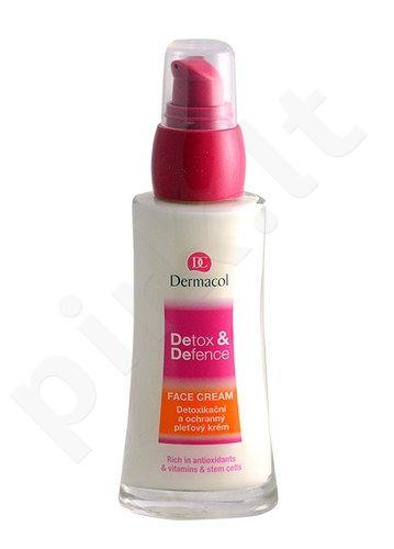 Dermacol Detox&Defence veido kremas, kosmetika moterims, 50ml