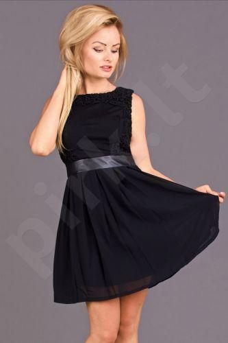 Emamoda suknelė - juoda 6708-1