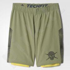 Šortai sportiniai Adidas A2G Two In One Shorts M S94469
