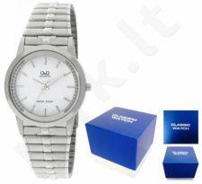 Laikrodis Q&Q FASHION moteriškas CLASSIC SILVER NEUTRAL BOX Q402-201Y
