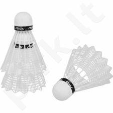 Badmintono skraidukės STIGA outdoor 3vnt baltas