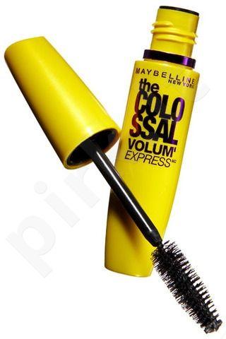 Maybelline blakstienų tušas Colossal Volum Black, 10,7ml, kosmetika moterims