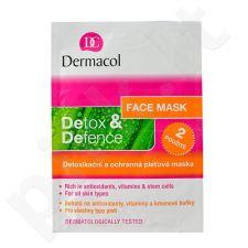 Dermacol Detox&Defence Face Mask, kosmetika moterims, 16g