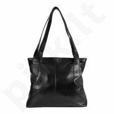 DAN-A T222 juoda rankinė iš natūralios odos , moteriška