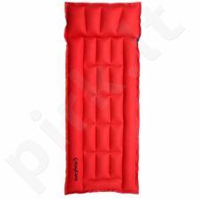 Čiužinys King Camp Box 1 žmogui guminis 82502 raudona-tamsiai mėlyna