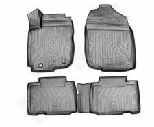 Guminiai kilimėliai 3D TOYOTA RAV4 2013-2015, 2015->, 4 pcs. /L62014G /gray