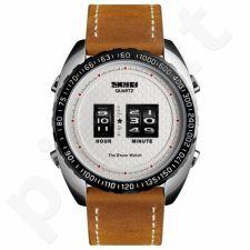 Vyriškas laikrodis SKMEI Drum Roller Watch 1516 SIWTLTBN