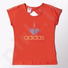 Marškinėliai Adidas Wardrobe Smart Junior S16411