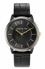 Laikrodis CERRUTI CANNEDI CRA148SBU61BK