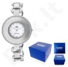Laikrodis Q&Q FASHION moteriškas FASHION SILVER Q&Q FASHION moteriškas CLASSIC SILVER NEUTRAL BOX F255-201Y