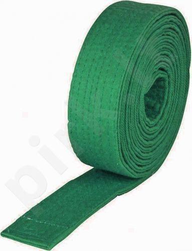 Diržas budo 2,6m žalias