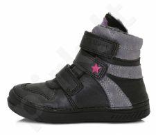 D.D. step juodi batai su pašiltinimu 31-36 d. 040432l