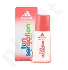 Adidas Fun Sensation For Women, Eau de Toilette moterims, 30ml