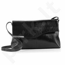 DAN-A T20 juoda rankinė iš natūralios odos , moteriška