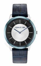 Laikrodis CERRUTI CANNEDI CRA148STBL03BL