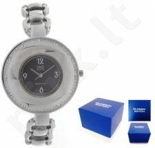 Laikrodis Q&Q FASHION moteriškas FASHION SILVER Q&Q FASHION moteriškas CLASSIC SILVER NEUTRAL BOX F255-205Y