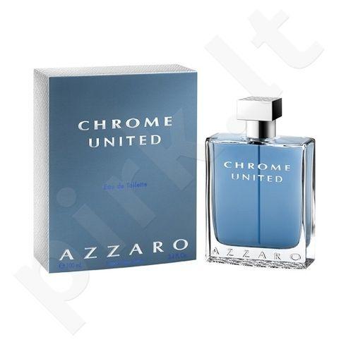 Azzaro Chrome United, tualetinis vanduo vyrams, 100ml